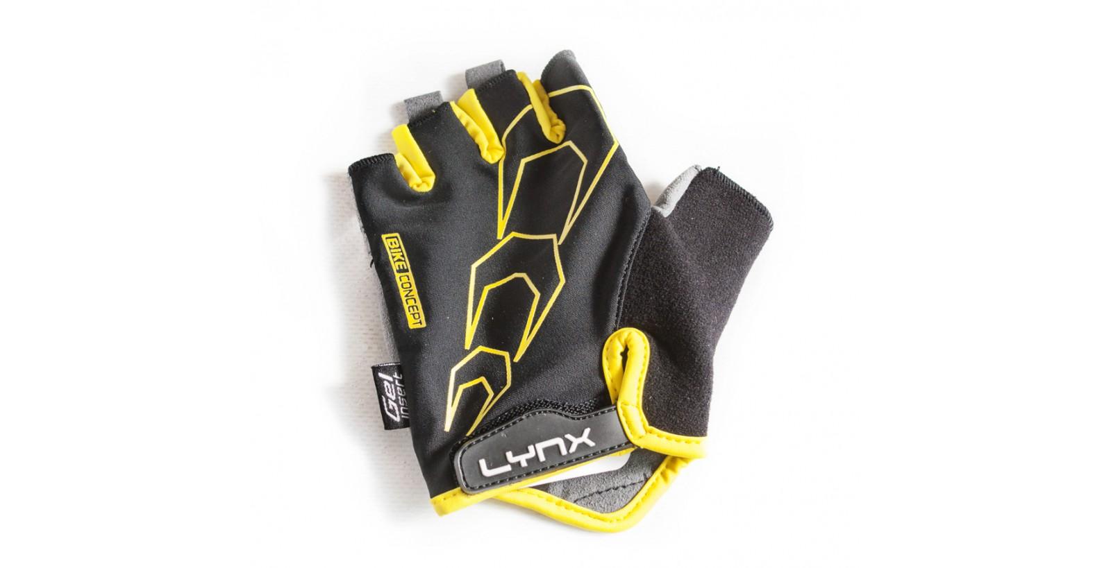 Рукавички RACE Black-Yellow