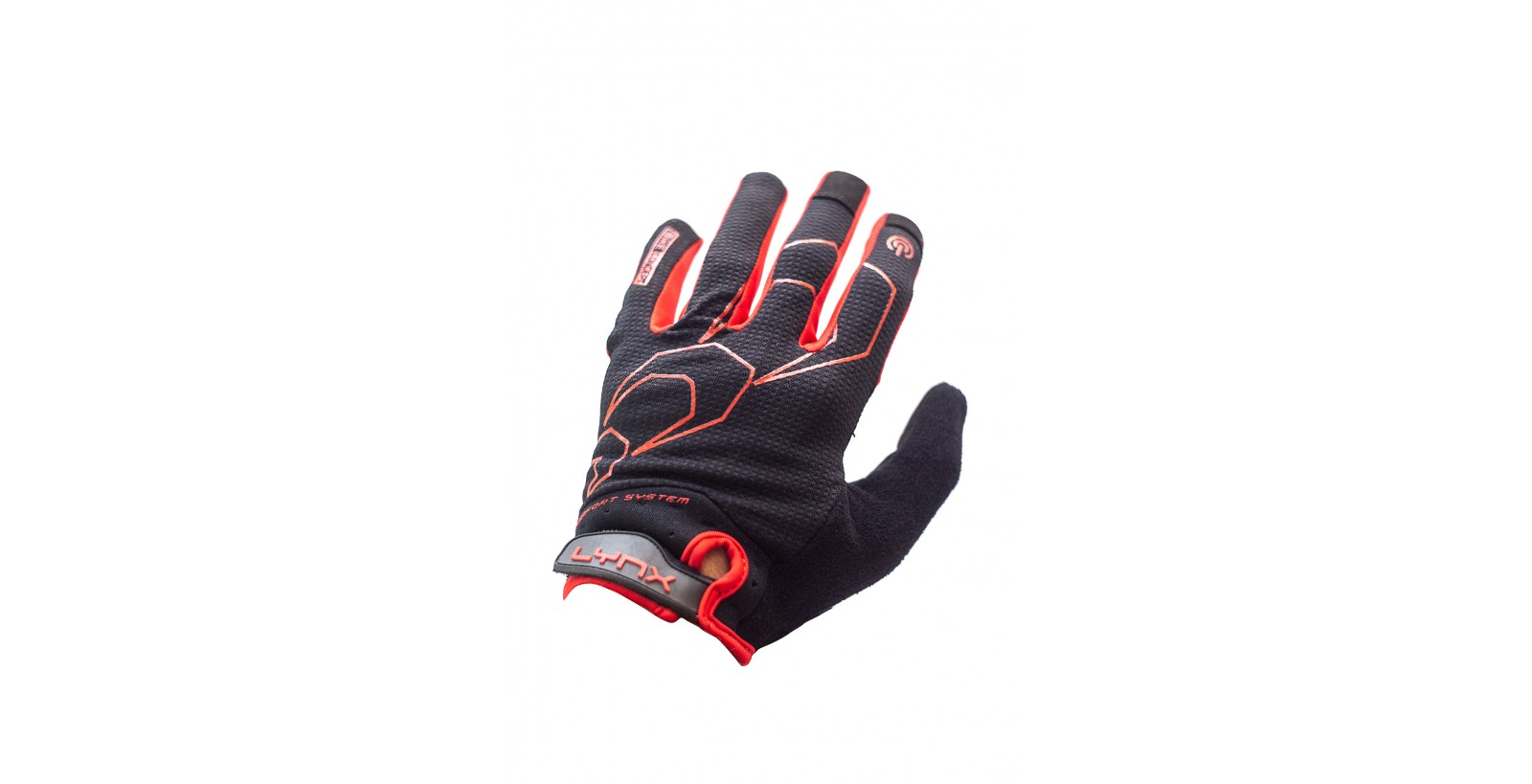 Рукавички Lynx All Mountain Black/red