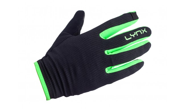 Рукавички Lynx Trail Black/Green