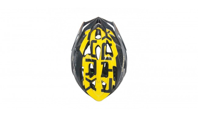 Шолом Lynx Morzine Matt Black Yellow